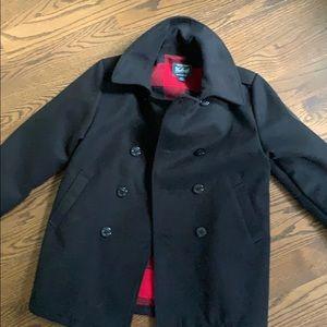 Boy's Woolrich pea coat size 10/12